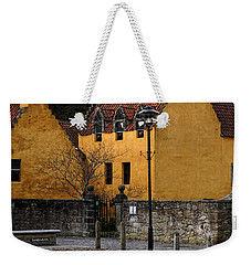 Weekender Tote Bag featuring the photograph Culross by Jeremy Lavender Photography
