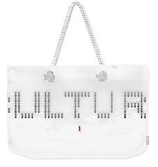 Culture Weekender Tote Bag