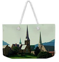 Cumberands Steeples Weekender Tote Bag by Eric Liller