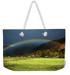 Cumbrian Rainbow Weekender Tote Bag