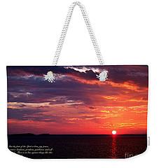Cumc Solstice Weekender Tote Bag