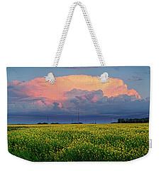 Cumulus And Canola Weekender Tote Bag