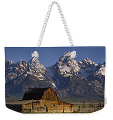 Cunningham Cabin In Front Of Grand Weekender Tote Bag