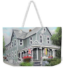 Cup A Joes Coffee Shop Weekender Tote Bag