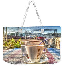 Cup Of Coffee On A Sunny Day Weekender Tote Bag