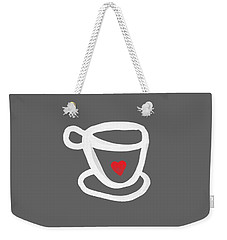 Cup Of Love- Shirt Weekender Tote Bag