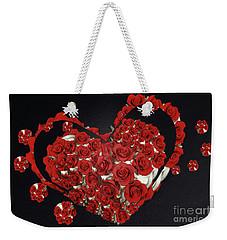 Cupcake Love Weekender Tote Bag by Afrodita Ellerman