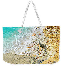 The Sea Below Weekender Tote Bag by Expressionistart studio Priscilla Batzell