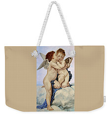 Cupid And Psyche Reproduction William Adolphe Bouguereau  Weekender Tote Bag