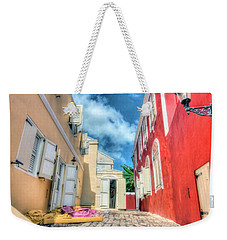 Curacao Alley Weekender Tote Bag by Nadia Sanowar