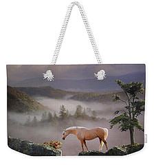 Weekender Tote Bag featuring the photograph Curiosity by Melinda Hughes-Berland