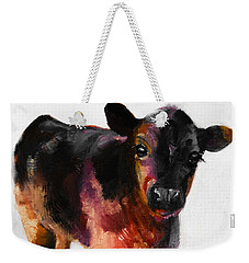 Buster The Calf Painting Weekender Tote Bag