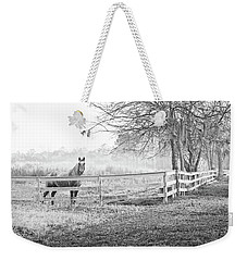 Curious Fog Weekender Tote Bag by Scott Hansen