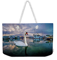 Weekender Tote Bag featuring the photograph Curious by Okan YILMAZ