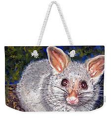 Curious Possum  Weekender Tote Bag