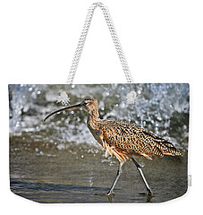 Curlew And Tides Weekender Tote Bag by William Lee