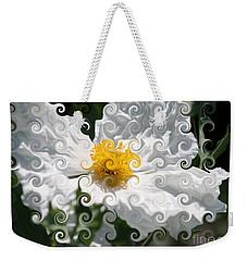 Curlicue Fantasy Bloom Weekender Tote Bag