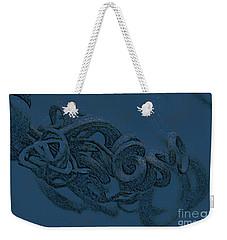 Weekender Tote Bag featuring the digital art Curly Swirly by Kim Henderson