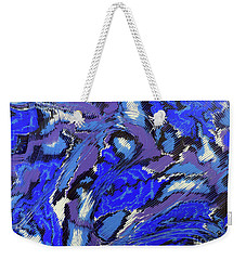 Currents And Tides  Weekender Tote Bag by Cathy Beharriell
