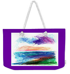 Currents Weekender Tote Bag
