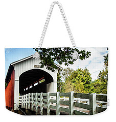 Currin Bridge Weekender Tote Bag