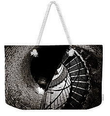Weekender Tote Bag featuring the photograph Currituck Spiral II by David Sutton