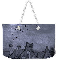 Weekender Tote Bag featuring the photograph Curse Of Manor House by Juli Scalzi