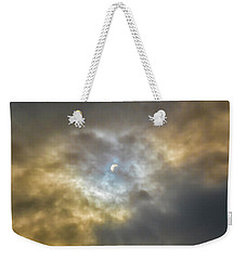 Curtain Of Clouds Eclipse Weekender Tote Bag