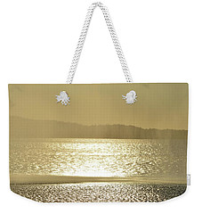 Weekender Tote Bag featuring the photograph Curtain Of Water  by Lyle Crump