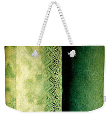 Weekender Tote Bag featuring the photograph Curtain by Silvia Ganora