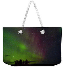 Curtains Of The Aurora Weekender Tote Bag