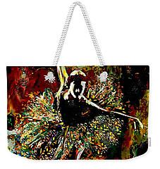 Curtsey Weekender Tote Bag by Lynda Payton