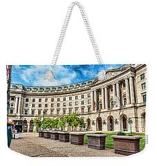 Curved Epa Weekender Tote Bag