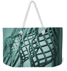 Curved Iron Fence Weekender Tote Bag by Vlad Baciu