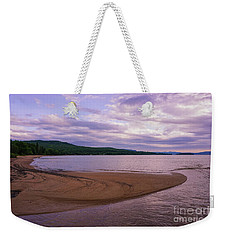 Weekender Tote Bag featuring the photograph Curves In The Bay by Rachel Cohen