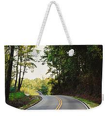 Curvy Road Weekender Tote Bag