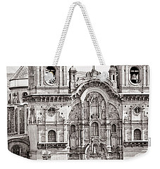 Cusco Cathedral Weekender Tote Bag by Darcy Michaelchuk