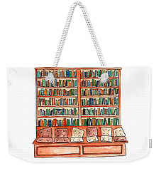 Cushions Room Of Shakespeare And Company Weekender Tote Bag