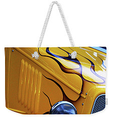 Weekender Tote Bag featuring the photograph Custom 1934  Ford Artwork by Baggieoldboy