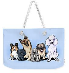 Custom Breed4ginnie Print Weekender Tote Bag