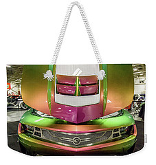 Weekender Tote Bag featuring the photograph Custom Camaro by Randy Scherkenbach