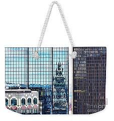 Custom House Reflection Weekender Tote Bag