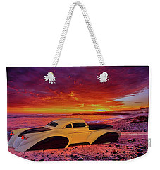 Weekender Tote Bag featuring the photograph Custom Lead Sled by Louis Ferreira