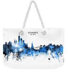 Custom New York Skyline Weekender Tote Bag