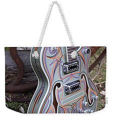 Custom Painted Giutar Weekender Tote Bag