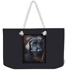 Custom Paw Print Midnight Oh So Sweet Weekender Tote Bag