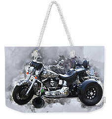 Customized Harley Davidson Weekender Tote Bag
