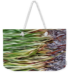 Cut Grass And Pebbles Weekender Tote Bag