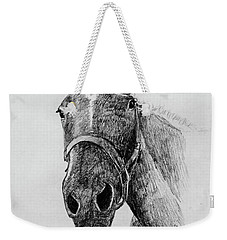 Cut The Horse Weekender Tote Bag