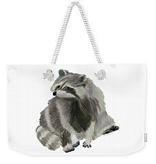 Cute Raccoon Weekender Tote Bag
